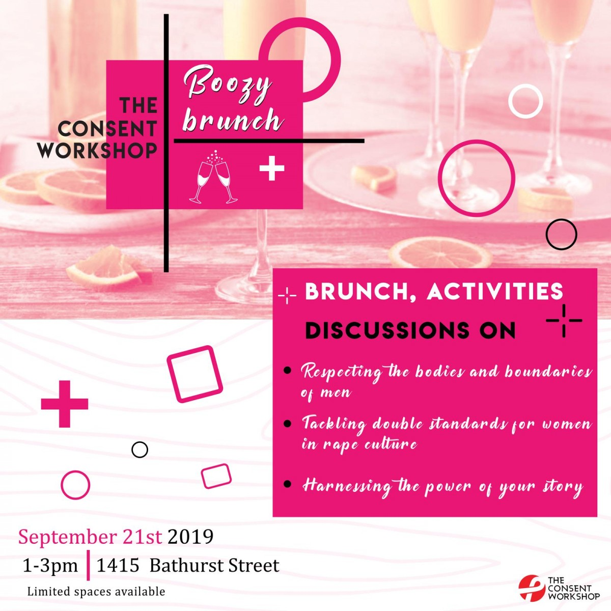 The Consent Workshop Boozy Brunch: Women's Only Workshop